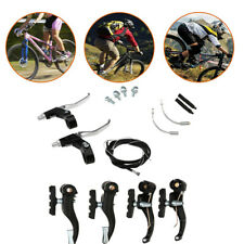Bike V-Brake Levers Cables Complete Set for Mountain Cycling BMX MTB Bicycle