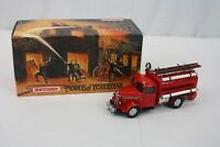 Matchbox Models of Yesteryear 1939 Bedford Tanker YFE04 Fire Truck