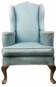 VINTAGE ARMCHAIR COUNTRY HOUSE QUEEN ANNE STYLE SUPERIOR QUALITY