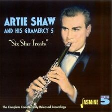 ARTIE & HIS GRAMERCY FIVE SHAW - SIX STAR TREATS (COMPLETE RECORDINGS) 5 CD NEUF