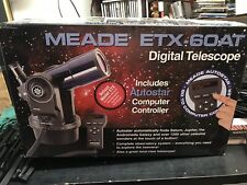Meade ETX 60AT Digital Telescope Autostar Computer Controller. Nice Free Ship