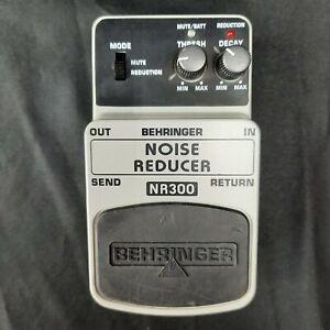 Behringer Noise Reducer Pedal Guitar Bass NR300Gate
