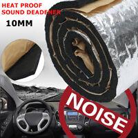 100 x 55cm 10mm Estera Aislante Coche Calor Aislamiento Acústico Insonorización