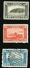 1930 Canada Stamps #174 & 175 (MINT H) & #176 (Used, H)