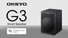 Onkyo G3 Smart Speaker With Google Assistant - Black (VC-GX30)