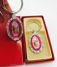 12-Baptism Virgen Maria Favors Keychains Communion Recuerdos De Bautizo Boda 15