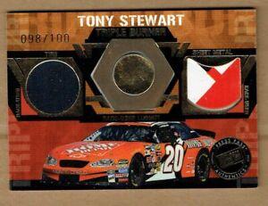 2005 PRESS PASS TRIPLE BURNER #TB9 TONY STEWART #98/100