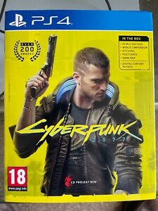 Cyberpunk 2077 (PS4)  - WITH EXTRAS (POSTCARDS, MAP ETC)