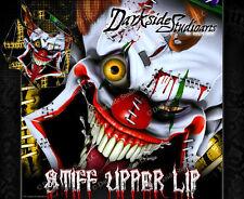 "SKI-DOO 2008-2012 XP REV SUMMIT ""STIFF UPPER LIP"" SIDE PANEL GRAPHICS WRAP"