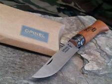 "Opinel VRN6 No # 6 Knife Beech Wood Folding Pocket Blade 6.5"" Overall 13060"