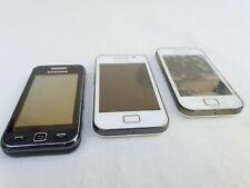 3 X Retro Samsung Phones - Mixed Condition - All Spares Repair - Untested