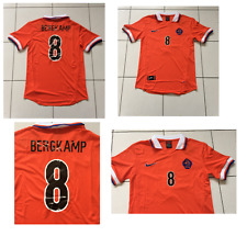 BERGKAMP Holland shirt 1998 WORLD CUP DUTCH MED inter Milan Ajax Arsenal RETRO