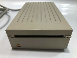 VINTAGE Apple 3.5 Drive A9M0106 External Floppy Drive Apple II+, IIc+, IIe,