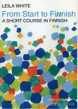 Finnish language training Pack. Books, audio, tests and more.