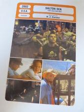 FICHE CINEMA,SALTON SEA, D.J CARUSO, V.kilmer,V.d'onofrio,2002