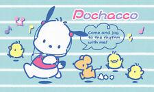 """Sanrio Pochacco """"RUN"""" Small Memo"""