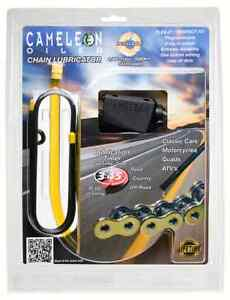 Motorcycle Chain Oiler ONE. Chain Lubricator By Cameleon Oiler