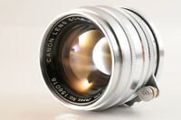 【NEAR MINT】CANON 50mm F/1.8 Leica Screw Mount L39 LTM silver MF Lens From JAPAN