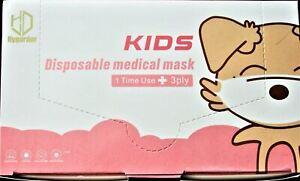 3-lagig⭐ medizinische⭐ Kinder Maske⭐ MundSchutz⭐ AtemSchutzMaske NEU