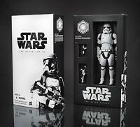 Star Wars Force Awakens Black Series First Order Stormtrooper SDCC 6 Inch Figure