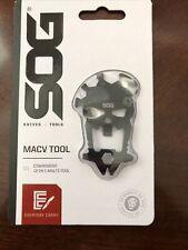 Sog Mac-V Tool Black 12 in 1 Tool 3Cr13 Stainless Steel Scull Stocking Stuffer