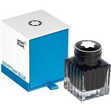 Montblanc tinta en el vidrio tintero/ink 30 ML, Egyptian blue, 119572, neu&ovp