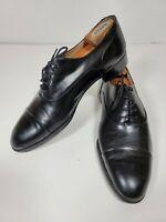 Vintsgr Bally Paco Oxford Cap Toe Dress Shoes Size 11 D