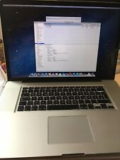 MacBook Pro 17 Early 2011 2,3 GHz Intel Core i7 Top Zustand in OVP Dual Graphic