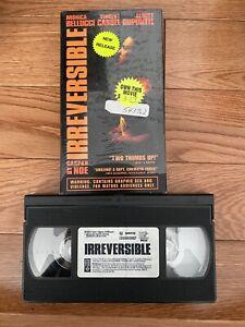 Irreversible Vhs Gaspar Noe Horror Extreme Rare Original Unrated Revenge Cult