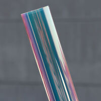 Colour Changing Self-adhesive Rainbow Pravicy Colourful Window Tint Vinyl