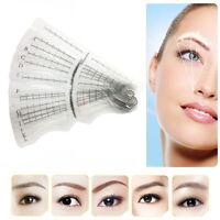 12pcs Eyebrow Grooming Shaping Stencil Kit Makeup Brow Template Shaper DIY Tool