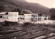 RARA FOTO - COSTRUZIONE PONTE A VILLANOVA D' ALBENGA - 1970ca - VINTAGE  C7-316