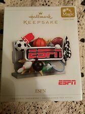 Hallmark Ornament ESPN 2006 Sports Network Football Soccer Baseball Bowling NIB