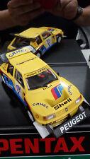 Slot car Spirit Peugeot 205 rally Pikes Peak Camel