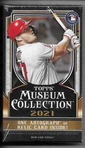 2021 Topps Museum Collection Sealed Hobby Mini Box - 1 Auto or 1 Memorabilia per