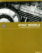 2010 Harley Davidson Dyna Motorcycle Service Manual : 99481-10