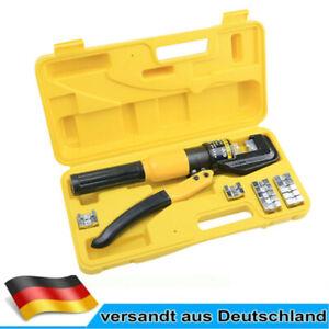 Hydraulische Presszange Crimpzange Quetschzange Kabelschuhe Zange 16-300 mm² DE