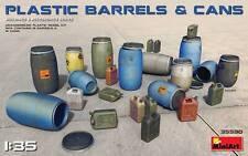 Mini Art 35590 Model kit 1/35 PLASTIC BARRELS & CANS