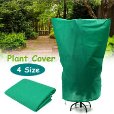 More details for 4 size green warm plant cover tree shrub frost protection bag yard garden