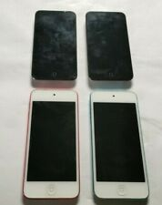 Joblot of 4 Apple iPod Touch 4th & 5th Generation 8gb, 16gb & 32gb Damaged