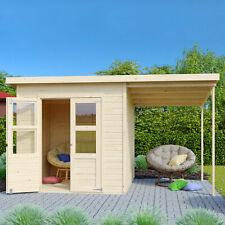 Gerätehaus 350x220 + Fußboden Gartenhaus Holzhaus Holz Gerätehaus Schuppen Neu