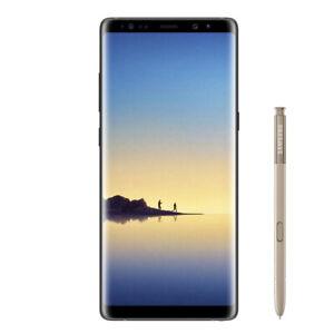 New Samsung Galaxy Note 8 Maple Gold SM-N950F LTE 64GB 4G Factory Unlocked UK