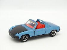 Dinky toys GB SB 1/43 - Porsche 914 Blu