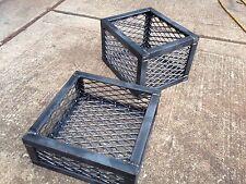 "BBQ Smoker Charcoal Wood Basket 11""x 8""x 5"". Heavy Duty!"