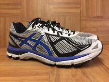 014744f45a6 Raro 🔥 Asics GT-2000 FluidRide Para Hombre Zapato Para Correr Plata Azul  Negro Talla 12 T500N