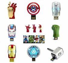64GB Vengadores USB Stick Marvel USB Memory Stick Flash Drive 1MB Pen Drive Lot