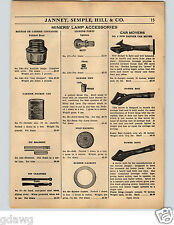 1936 PAPER AD Badger Railroad Car Movers Power Boy Power King