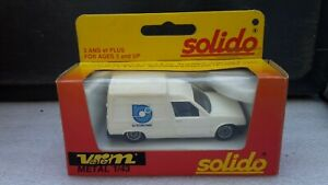 SOLIDO MADE IN FRANCE HORS COMMERCE RENAULT EXPRESS RJ INTERNATIONAL