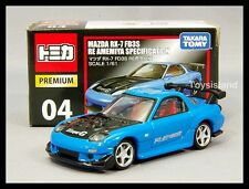 TOMICA PREMIUM 04 MAZDA RX-7 FD3S RE AMEMIYA SPECIFICATION 1/61 TOMY RX7