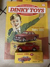 "DINKY TOYS VOLVO 122S SCALA 1/43 - DE AGOSTINI 17 ""E"""